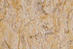 Struttura di marmo beige Fotografia Stock