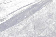 Struttura di marmo bianca con il modello naturale Fotografia Stock