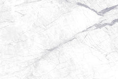 Struttura di marmo bianca con il modello naturale Immagini Stock Libere da Diritti