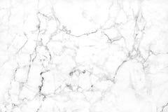 Struttura di marmo bianca nel modello naturale con l'alta risoluzione per Immagine Stock