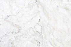 Struttura di marmo bianca nel modello naturale con l'alta risoluzione per Immagine Stock Libera da Diritti