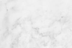 Struttura di marmo bianca, struttura dettagliata di marmo in naturale modellato per fondo e progettazione Fotografia Stock Libera da Diritti