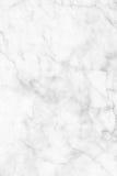 Struttura di marmo bianca, struttura dettagliata di marmo in naturale modellato per fondo e progettazione Fotografia Stock