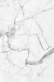 Struttura di marmo bianca, struttura dettagliata di marmo in naturale modellato per fondo e progettazione Fotografie Stock