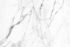 Struttura di marmo bianca, struttura dettagliata di marmo in naturale modellato per fondo e progettazione Immagini Stock