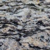 Struttura di marmo in bianco e nero Immagine Stock