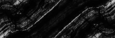 struttura di marmo in bianco e nero orizzontale per il modello fotografie stock
