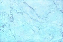 Struttura di marmo blu nel modello naturale con il pavimento della pietra di alta risoluzione e blu Fotografia Stock