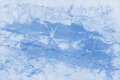 Struttura di marmo blu nel modello naturale con il pavimento della pietra di alta risoluzione e blu Immagini Stock