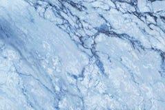 Struttura di marmo blu nel modello naturale con l'alta risoluzione Fotografia Stock