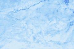 Struttura di marmo blu nel modello naturale con l'alta risoluzione Immagini Stock Libere da Diritti