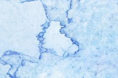 Struttura di marmo blu nel modello naturale, pavimento blu della pietra delle mattonelle Fotografia Stock