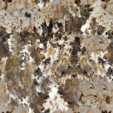 Struttura di marmo chiazzata con le crepe di colore di contrasto Squ senza cuciture Immagini Stock