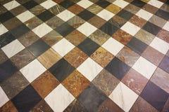 struttura di marmo del quadrato del pavimento Immagini Stock Libere da Diritti