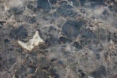Struttura di marmo Fondo della pietra nera e blu Oporto caraibica Fotografia Stock Libera da Diritti