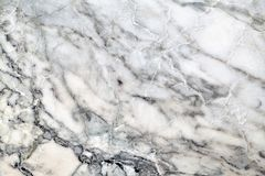 Struttura di marmo grigia con il modello naturale per fondo o desig Immagine Stock Libera da Diritti