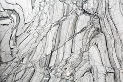 Struttura di marmo grigia naturale di lusso Fotografia Stock