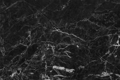 Struttura di marmo grigia nera nel modello naturale con l'alta risoluzione per fondo Pavimento di pietra delle mattonelle Immagini Stock Libere da Diritti