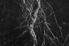 Struttura di marmo grigia nera nel modello naturale con l'alta risoluzione per fondo Pavimento di pietra delle mattonelle Immagini Stock
