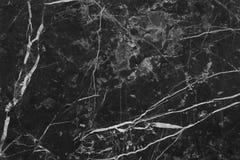 Struttura di marmo grigia nera nel modello naturale con l'alta risoluzione per fondo Pavimento di pietra delle mattonelle Immagine Stock