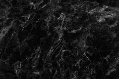 Struttura di marmo grigia nera nel modello naturale con l'alta risoluzione per fondo Pavimento di pietra delle mattonelle Fotografie Stock Libere da Diritti