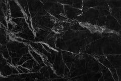 Struttura di marmo grigia nera nel modello naturale con l'alta risoluzione per fondo Pavimento di pietra delle mattonelle Immagine Stock Libera da Diritti