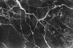 Struttura di marmo nera con la linea bianca naturale fondo dei modelli illustrazione di stock