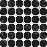 Struttura di marmo nera del modello Fotografie Stock Libere da Diritti