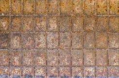 Struttura di metallo arrugginito Fotografia Stock