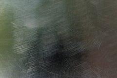 Struttura di metallo graffiato Fotografia Stock