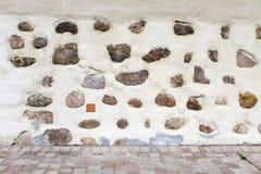 Struttura di Mir Castle antico Fotografie Stock Libere da Diritti