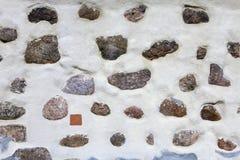 Struttura di Mir Castle antico Immagini Stock