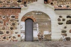 Struttura di Mir Castle antico Fotografie Stock