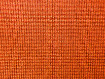 Struttura di moquette arancione Fotografie Stock