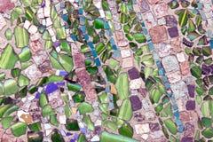 Struttura di mosaico di pietra di marmo Immagini Stock Libere da Diritti