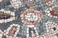 Struttura di mosaico di pietra di marmo Fotografia Stock