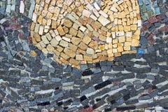 Struttura di mosaico di pietra di marmo Fotografia Stock Libera da Diritti