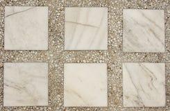 Struttura di mosaico e del marmo Fotografia Stock Libera da Diritti