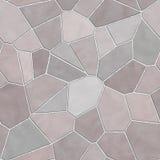 Struttura di mosaico senza giunte della parete di pietra illustrazione vettoriale