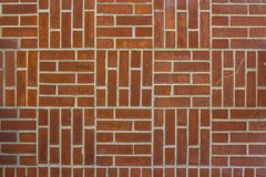 Struttura di muratura verticale ed orizzontale Muro di mattoni fotografia stock libera da diritti