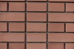 Struttura di nuovo muro di mattoni arancio Immagini Stock Libere da Diritti
