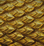 Struttura di oro Naka Fotografia Stock Libera da Diritti