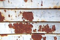 Struttura di piastra metallica arrugginita d'annata di lerciume, Fotografia Stock