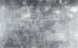 Struttura di piastra metallica di lerciume con le viti Fotografie Stock Libere da Diritti