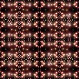 Struttura di piccoli luci e raggi Fotografia Stock