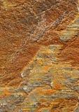 Struttura di pietra arancio Immagini Stock