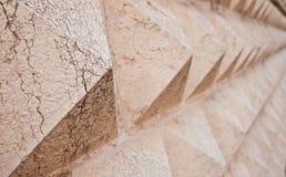Struttura di pietra astratta Fotografia Stock
