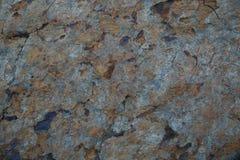 Struttura di pietra con ruggine Fotografia Stock