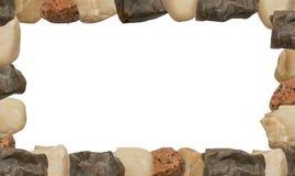 Struttura di pietra dei ciottoli del mare Immagini Stock Libere da Diritti