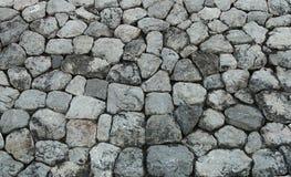 Struttura di pietra del fondo della roccia Fotografie Stock Libere da Diritti